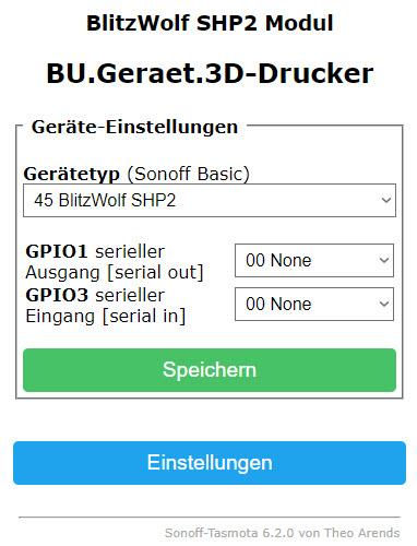 Gosund SP111 mit Tasmota - Der Bastelbunker