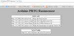 Arduino PRTG Raumsensor