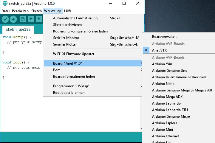Anet V1 x Board (A8/A6/A2) via ISP-Programmer wiederbeleben - Der